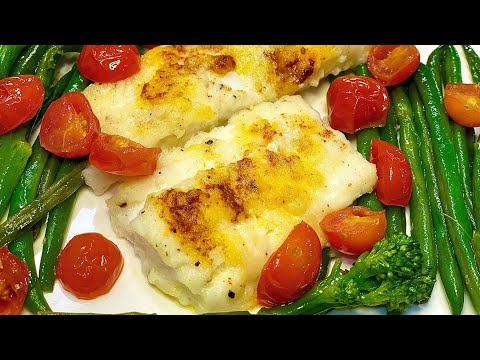 How To Make Easy Oven Baked Cod Fish Fillets