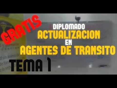 diplomado: ACTUALIZACIÓN EN AGENTES DE TRÁNSITO (Tema  1 )  Fortalecimiento del SER