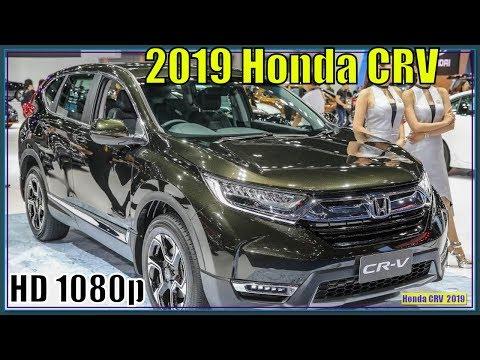 Honda CRV 2019 | 2019 Honda CRV Review - Excellent interior environment