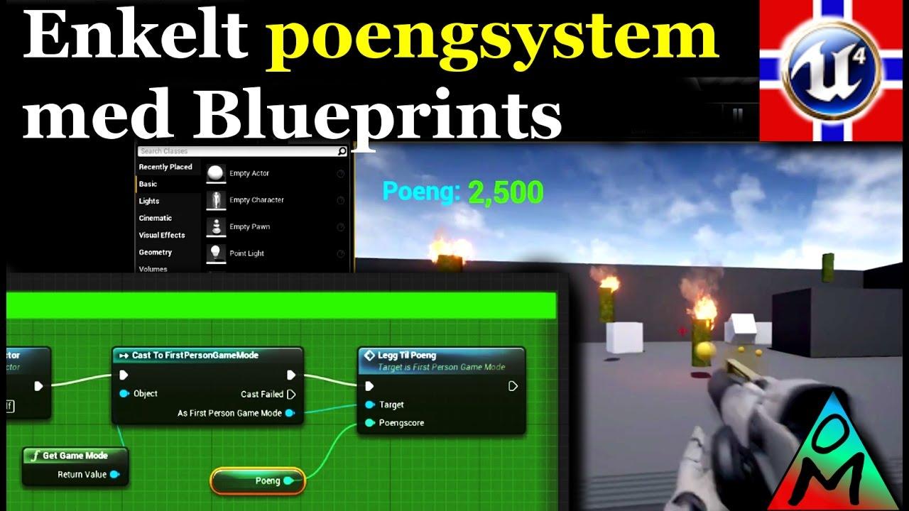 blueprint på norsk