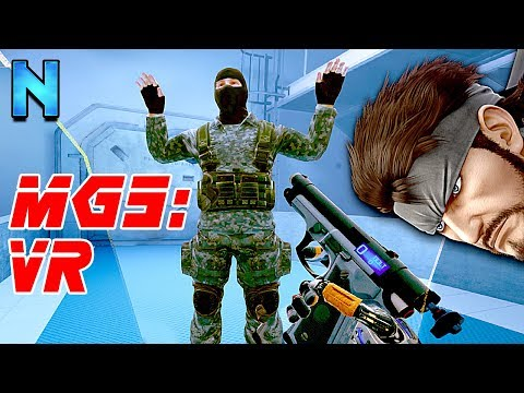 The Closest Thing to VR Metal Gear Solid!