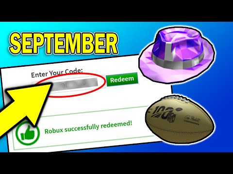 SEPTEMBER* NEW WORKING PROMO CODE ON ROBLOX 2019 | ROBLOX