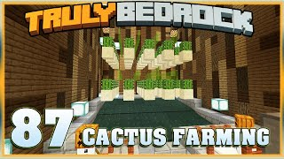 Truly Bedrock E86 Cactus Farming with Foxynotail | Minecraft Bedrock