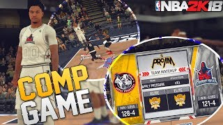 NBA 2K18 Pro Am: Caught Slacking In A Comp Game! Getting Carried!