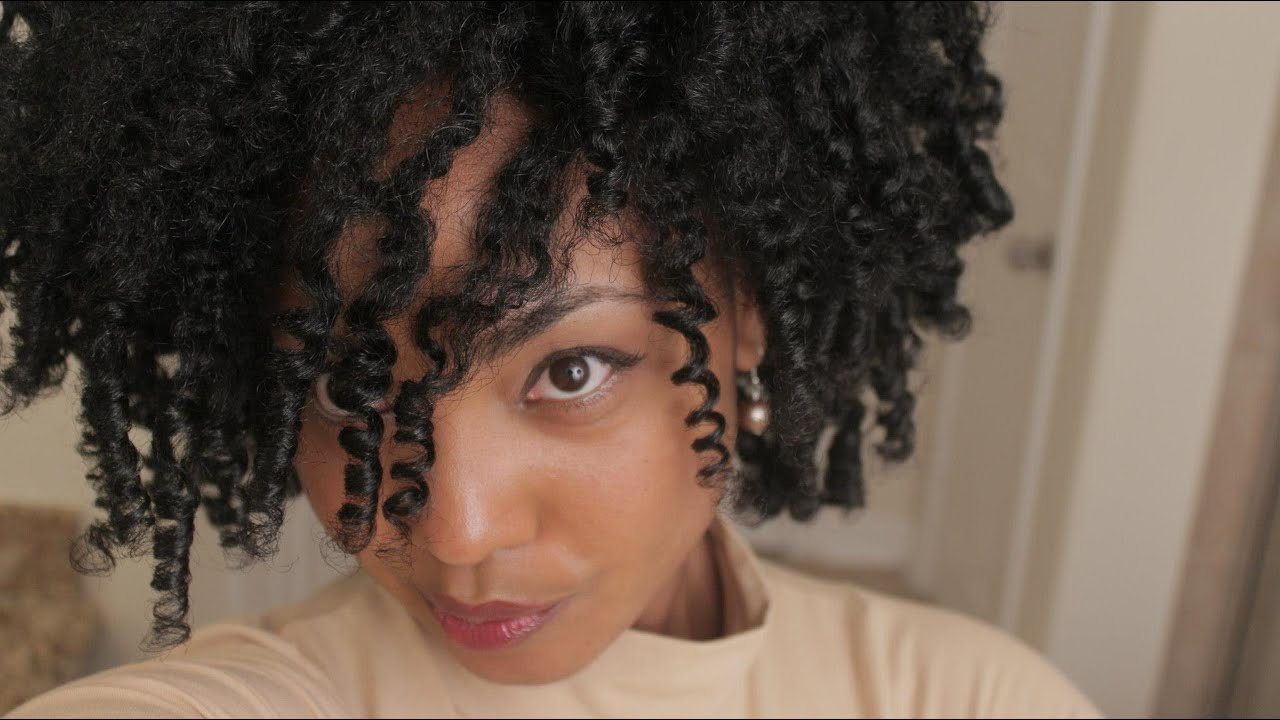 Curly Twist Out Tutorial Heart Shaped Hair For Valentine