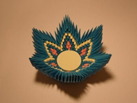 Модульное оригами конфетница схема сборки пошаговые фото 90