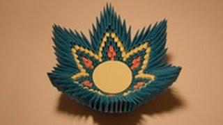Модульное оригами.№3 Конфетница