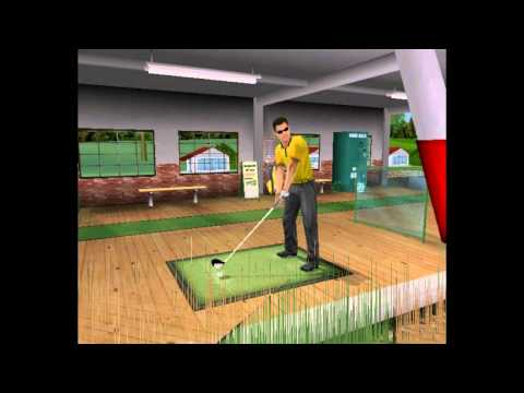 Gametrak Real World Golf PC 2005 Gameplay