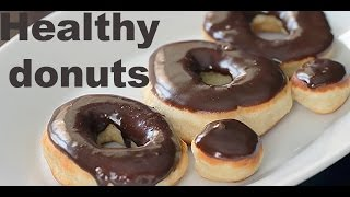 HEALTHY DONUTS -LOW FAT VEGAN