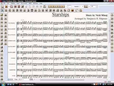 Starships for Marching Band
