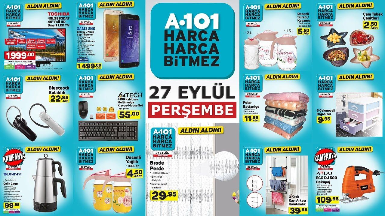 A101 27 Eylül Kataloğu – Aldın Aldın