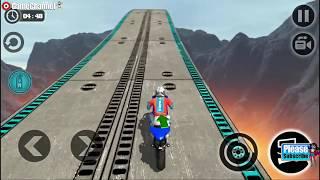 "Impossible Motor Bike Tracks 3D ""Motor Racers"" Motorbike Simulator / Android Gameplay Video #3"