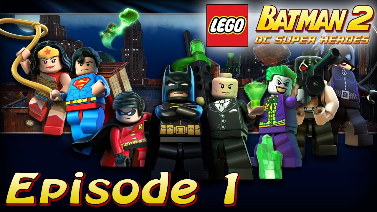 pisode 1 poursuite au th tre s rie lego batman 2 dc super heroes youtube. Black Bedroom Furniture Sets. Home Design Ideas