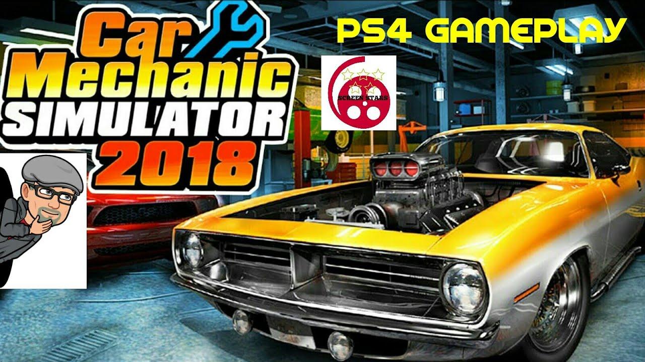 Car Mechanic Simulator PS4 Gameplay