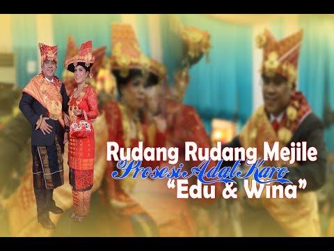 """RUDANG RUDANG MEJILE [LAGU KARO] - PROSESI ADAT """"EDU & WINA"""" WEDDING KARO"""