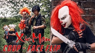 GUGU Nerf War : Couple Close CID Dragon Nerf Guns Fight Criminal Group XICMAN Mask