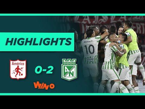 América vs Nacional (Goles y Highlights) Liga BetPlay Dimayor 2021-II | Fecha 15