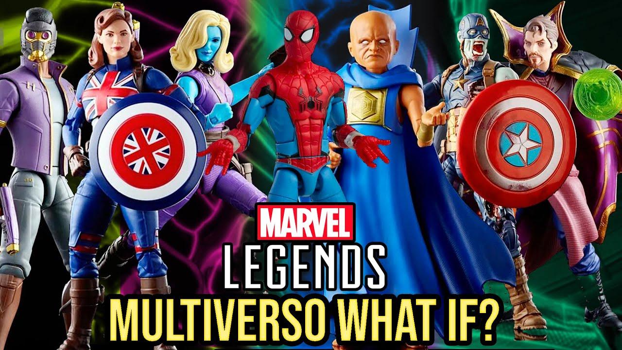 Llegan las figuras de What If?   Sorpresas Marvel Legends   Disney+, Dr. Strange Supreme, Spidey,...