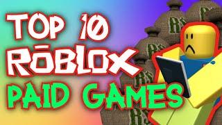 Top 10 Juegos ROBLOX de pago!