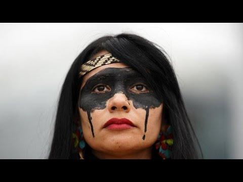 COP25: Indígenas choram derramamento de petróleo no Brasil