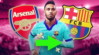 Fc barcelona are looking at everyone in efforts to replace luis suarez! they've gone from aubameyang werner and even looked giroud! but one target stan...