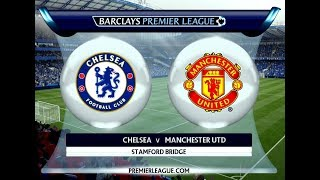 Chelsea FC vs Manchester United - Premier League #chelseafc #manutd #fifa19 #epl