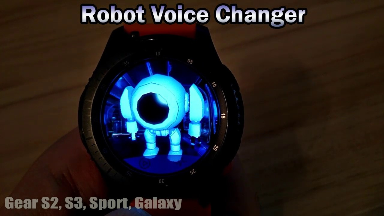 Robot Voice Changer