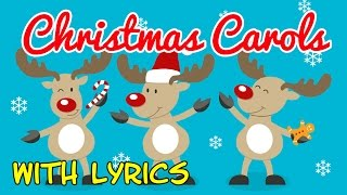 ♫ Christmas Carols for Children with Lyrics ♫ Christmas Songs for Kids with Lyrics