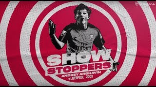 Arshavin scores 4 goals against Liverpool | Showstoppers compilation | Episode 1