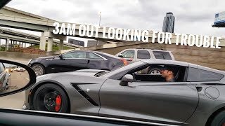 Corvettes & More Racing on The Streets of Texas : TX2K18