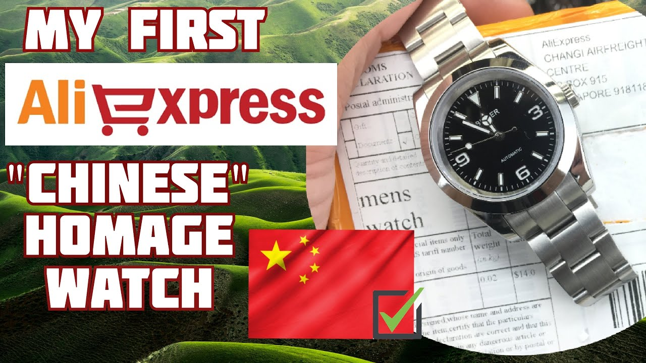 My FIRST AliExpress Watch!!! | Bliger Rolex Explorer Homage | Unboxing & First Impressions