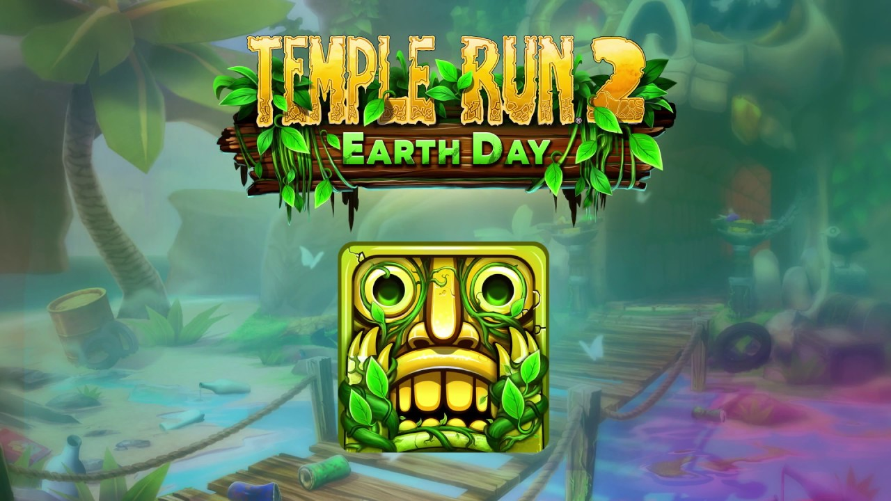 Temple Run 2 - Earth Day Gameplay - YouTube