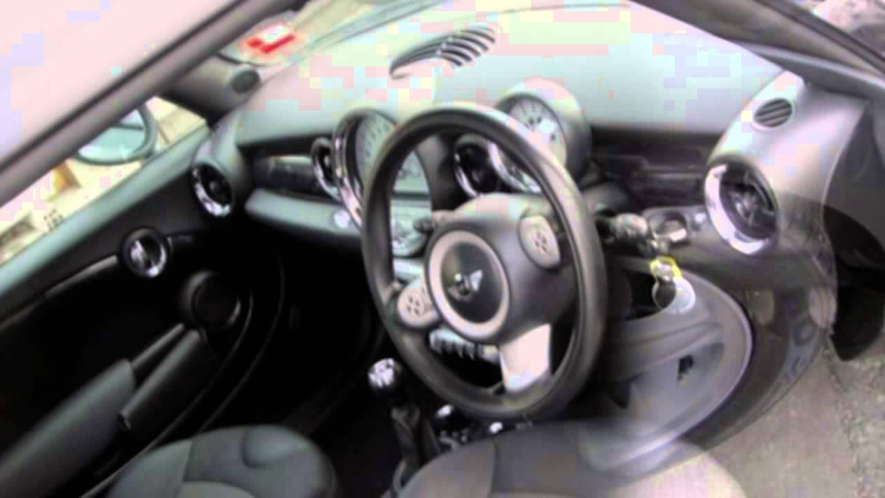 2008 Mini Cooper R56 Chilli Black 6 Sd Manual Hatchback