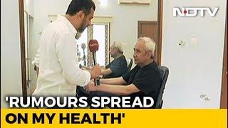 """""""Jay Panda Behind Health Rumours"""": Naveen Patnaik Flaunts Gym Routine"""