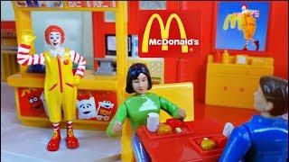 McDonald's Drive Thru Kitchen Toys Playset for Kids