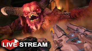 DOOM 4 Campaign | Fast, Savage & Brutal Demon Hunt | PART 2 Live Stream (60 FPS)