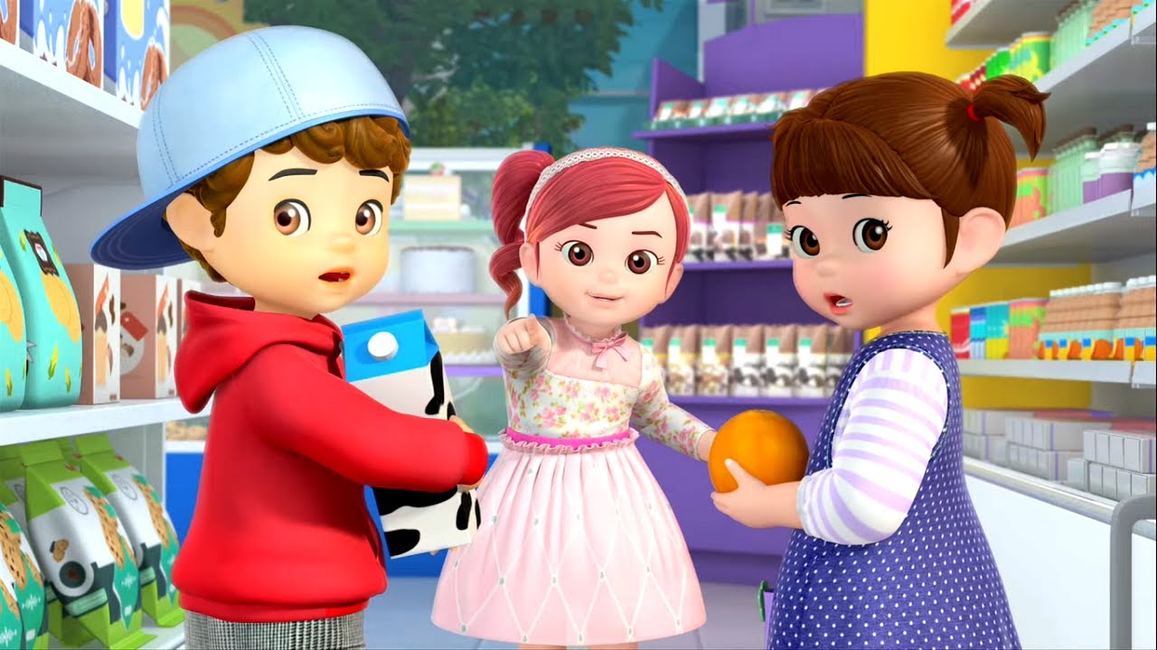 Консуни идет в магазин - 🌻☀️🏞️🌴 - Сборник - мультфильм для девочек -  Консуни