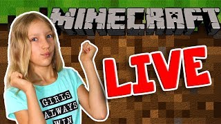 KarinaOMG plays Minecraft! [Live Stream]