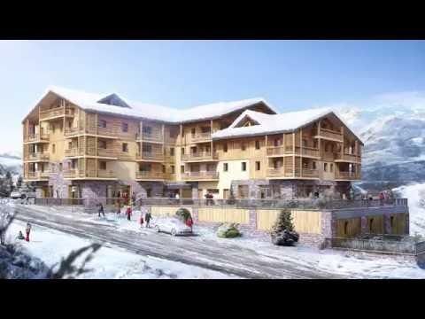 Prestige development in 3 Valleys ski area (Les Menuires)