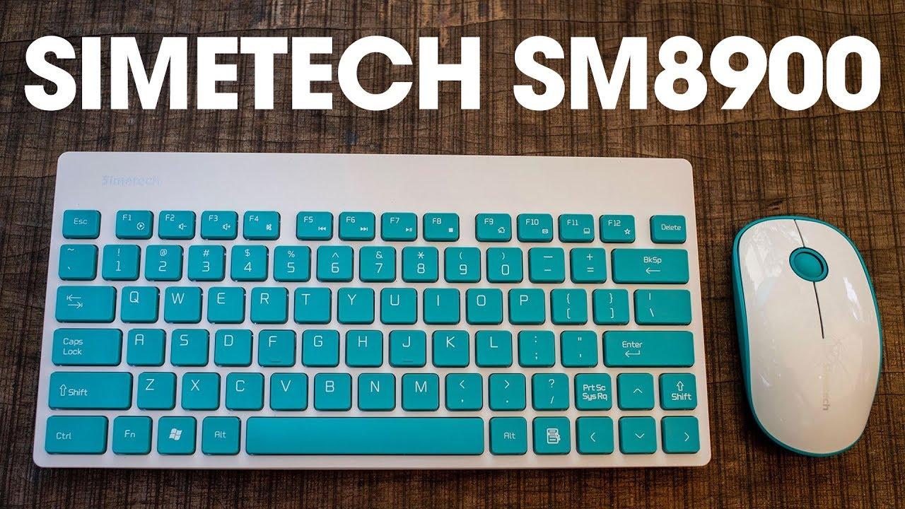 Trên tay bộ combo bàn phím và chuột Simetech SM8900: Nhỏ gọn, đẹp mắt, giá rẻ