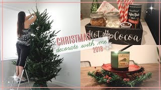 Christmas Decorate With Me 2018