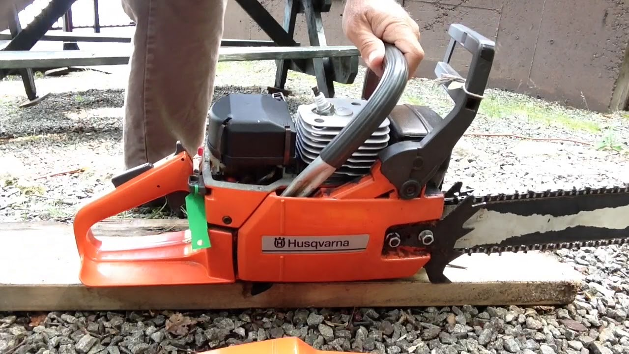 Old Husqvarna 266se very hard to pull in Chainsaws