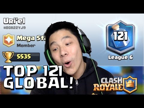 WOW! KETEMU TOP PLAYER INDO (121 GLOBAL)!!!!! • Clash Royale Indonesia