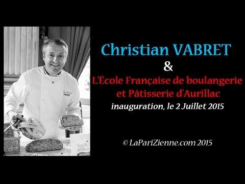 155df4081b6a0 Interview de Christian Vabret Ecole de boulangerie et patisserie à Aurillac  - La-PariZienne.com
