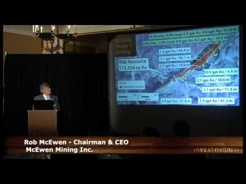 CEO Rob McEwen presented to Manhattan Investors October 2012