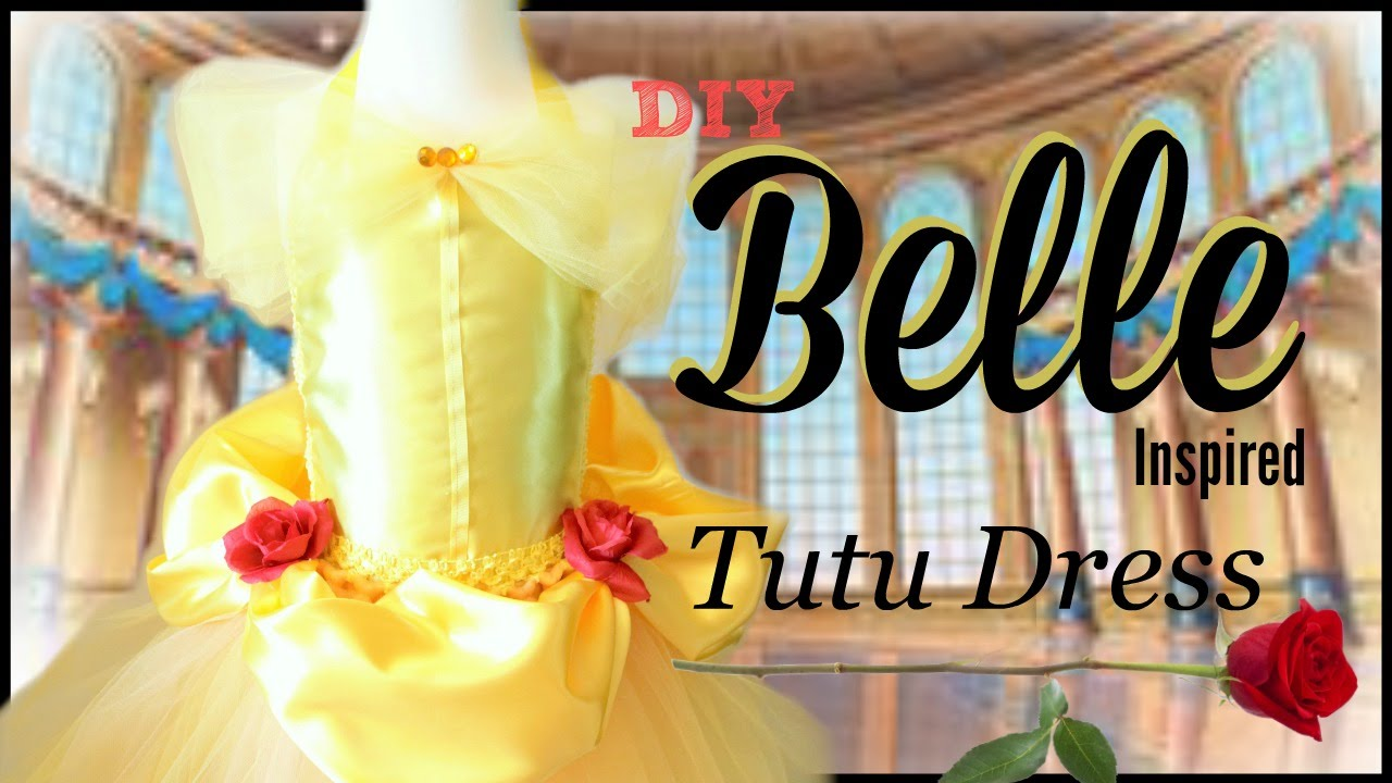 Assez Belle Costume Tutu Dress - DIY Tutorial - YouTube KA45