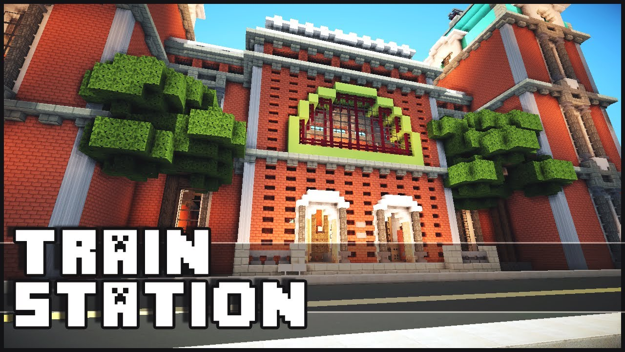 Minecraft Train Station YouTube - Minecraft grobe hauser download
