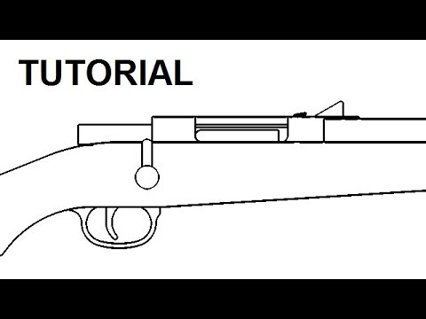 Kar98k rubber band gun — $5 plans and tutorial