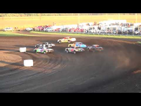 IMCA Stock Car Heats Benton County Speedway 9/17/17