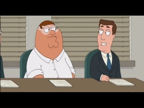 Family guy  Carter Pewterschmidt becomes Peter's boss